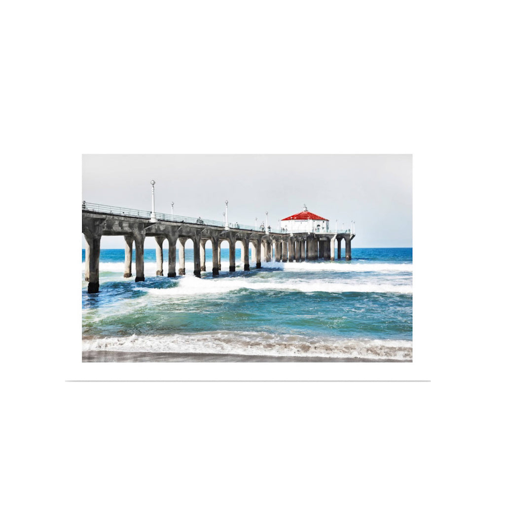 Manhattan Beach Pier -11x14 Full Pier
