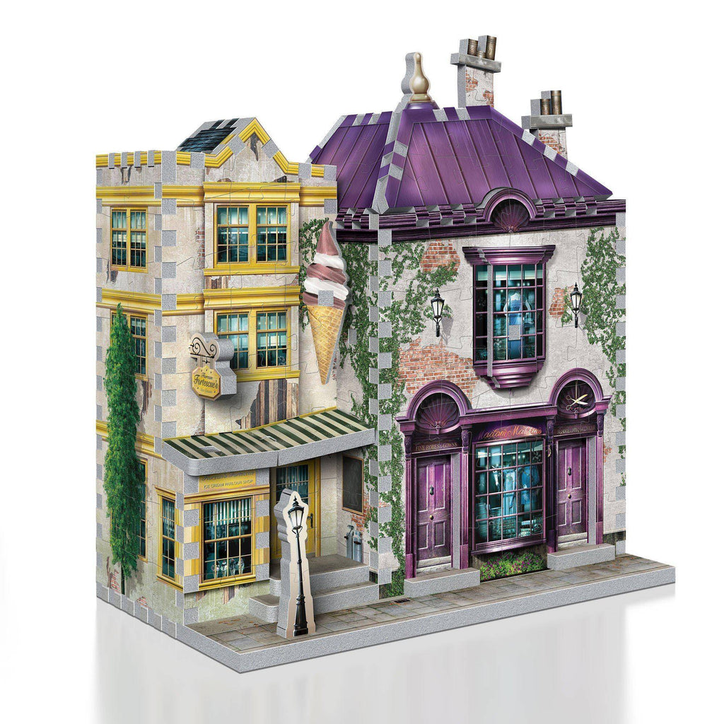 Wrebbit Harry Potter Madam Malkin's and Florean Fortescue's Ice Cream 3D Puzzle