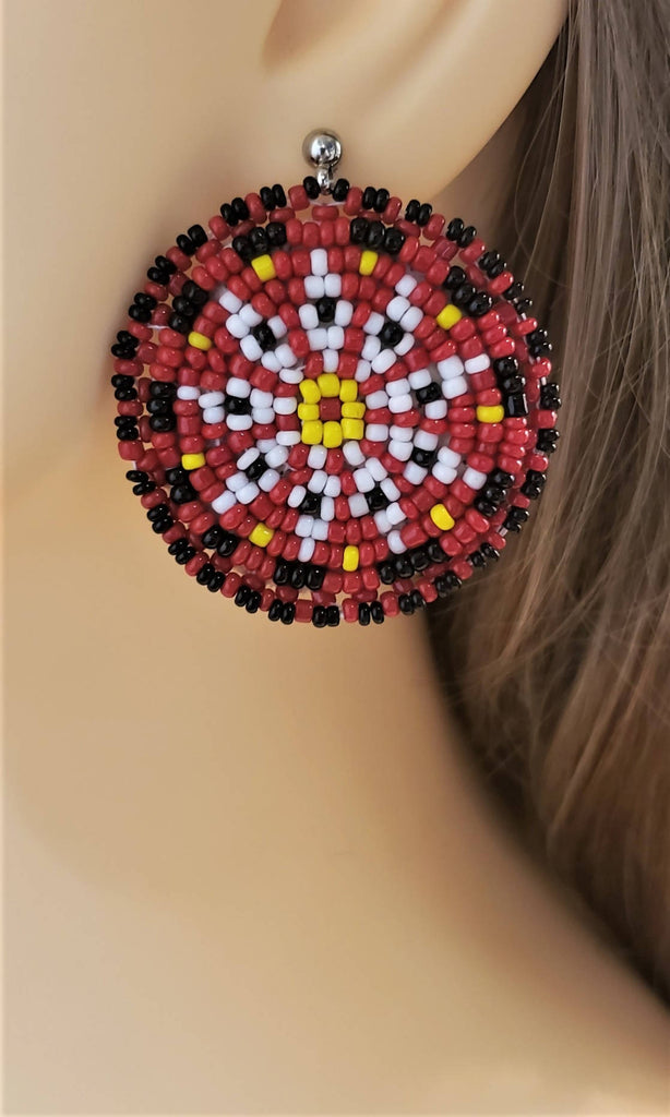 Seed beads earrings - ER019