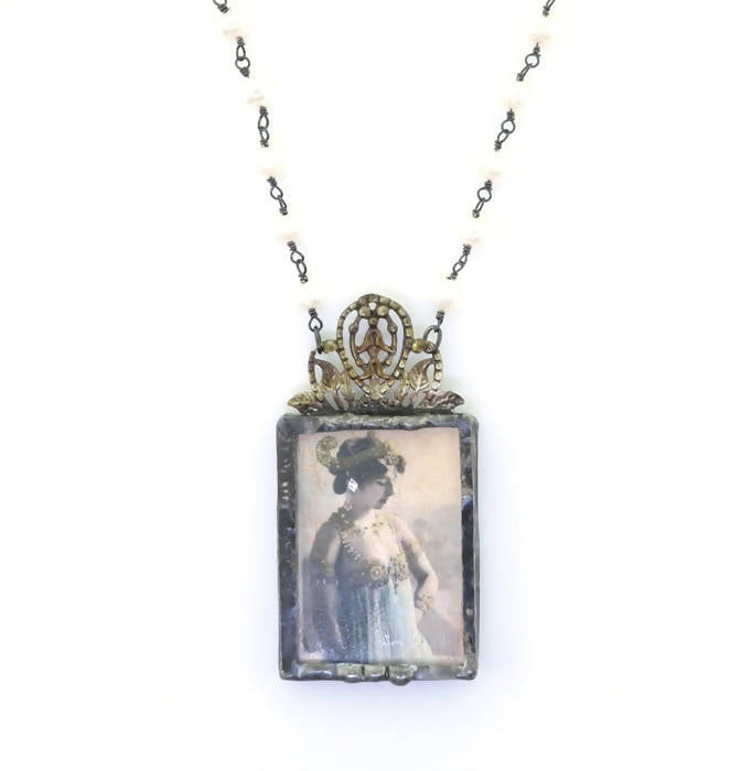 Cyndee Whitney Portrait of a Grand Lady Necklace