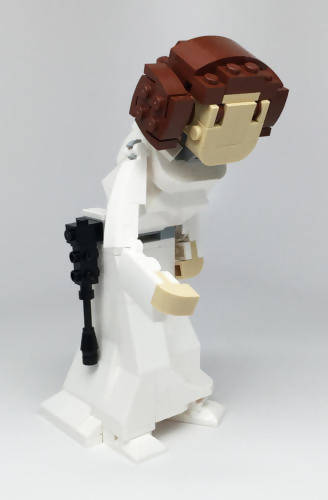 Princess Leia Custom Lego Figure Kit