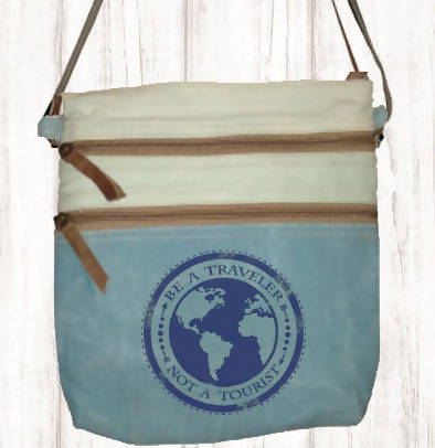 Canvas Bag Be a Traveller