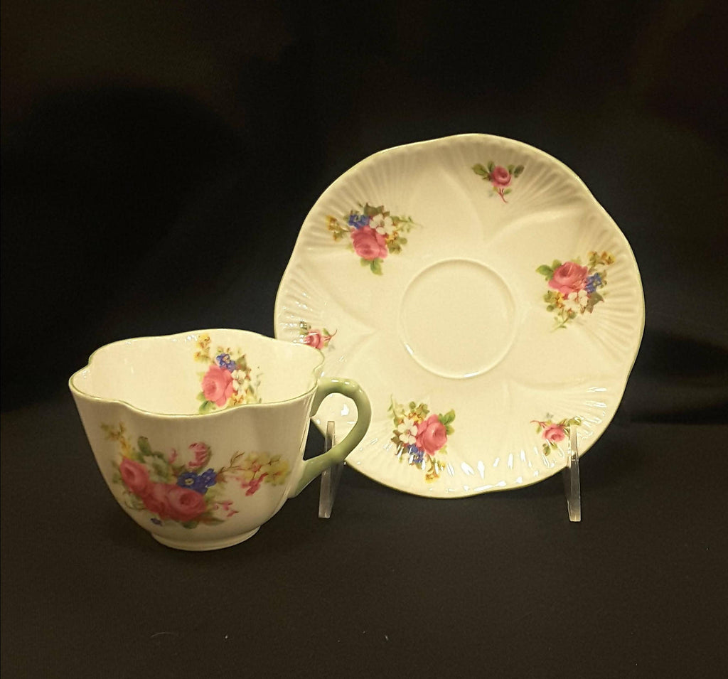 Shelley Floral cup and saucer