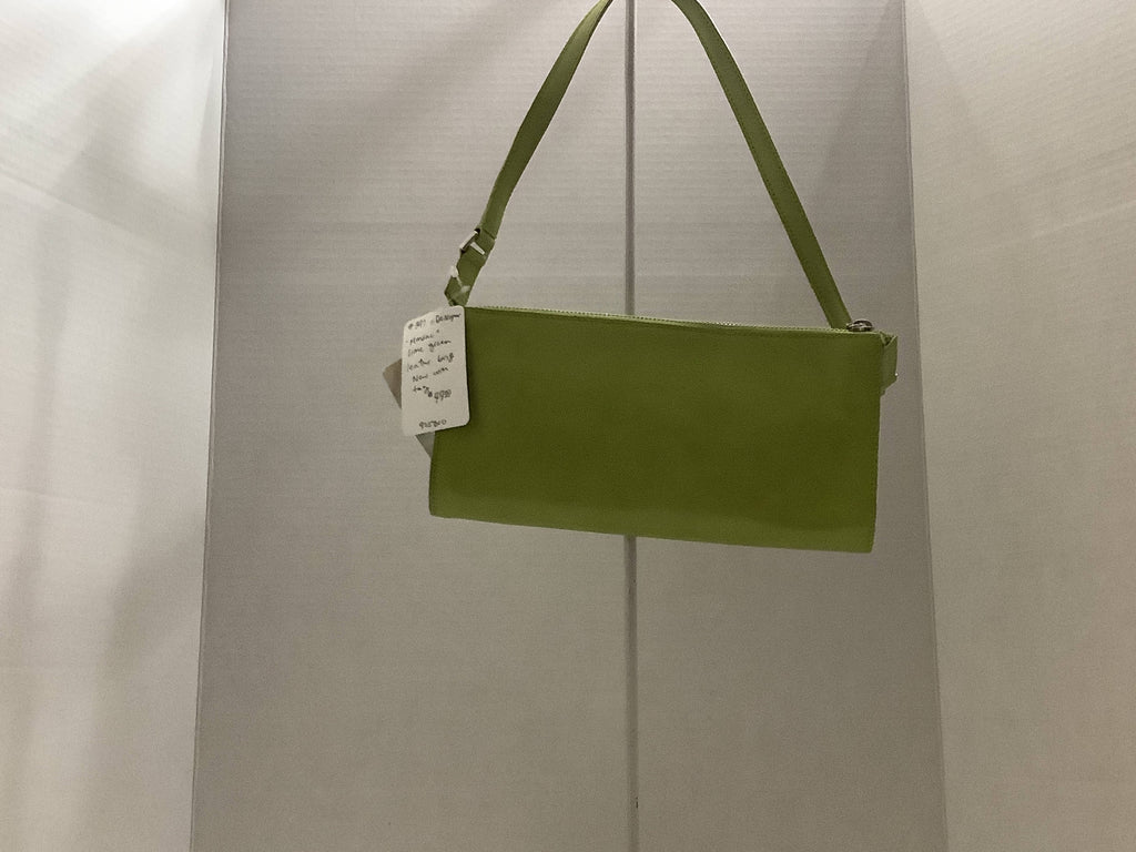Bag Monsac Lime Green Leather