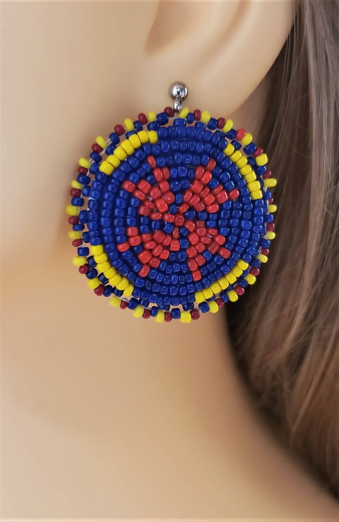 Seed beads earrings - ER020