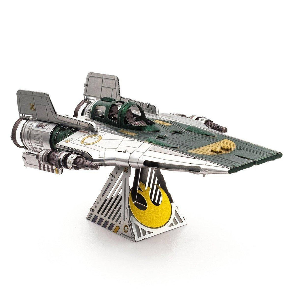 Metal Earth Star Wars Resistance A-Wing Fighter