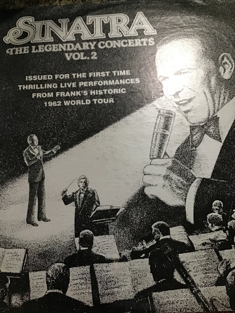 Sinatra the legendary concerts record