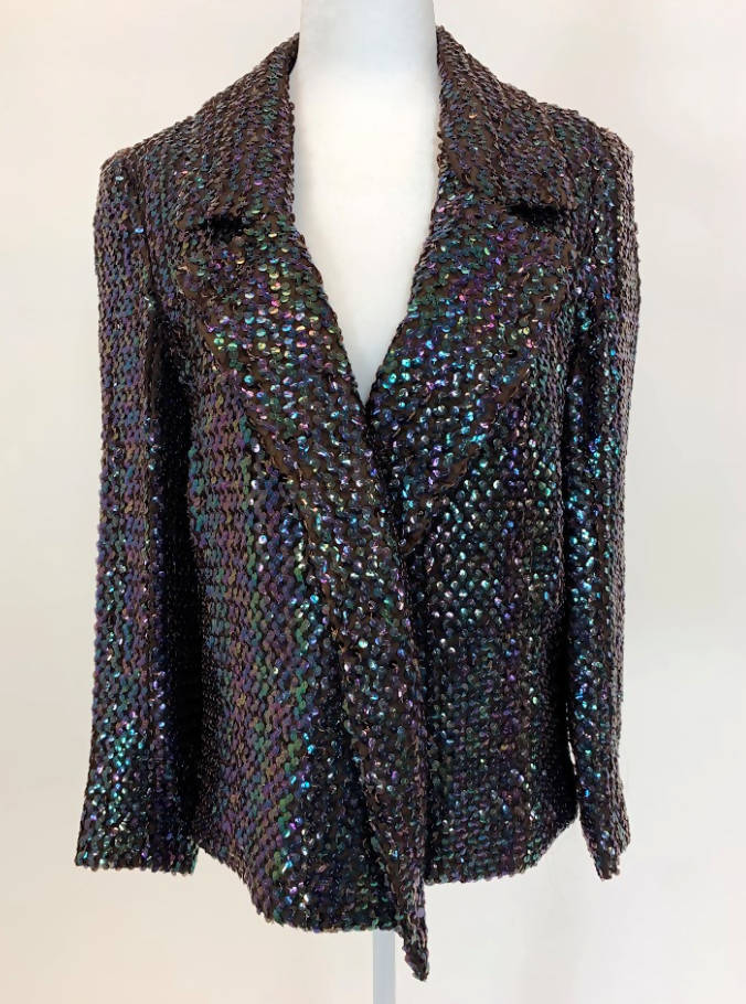 Anthony Muto for Bullocks Sequin Jacket (vintage dress/clothing)