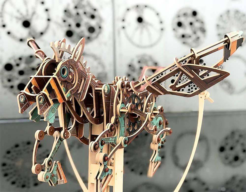 Pegasus Of The Machine Age Automata