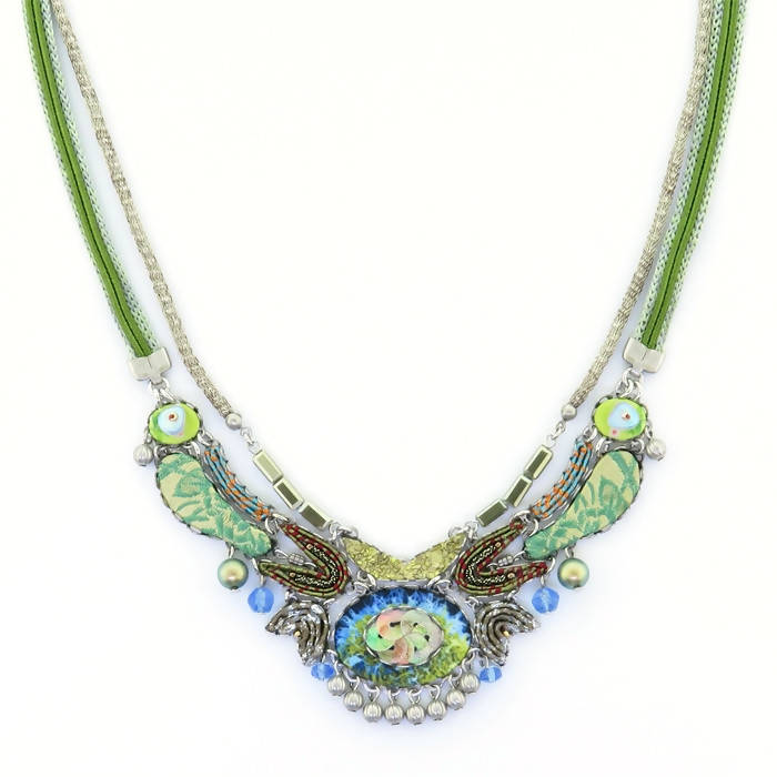 Ayala Bar Fiesta Green Necklace