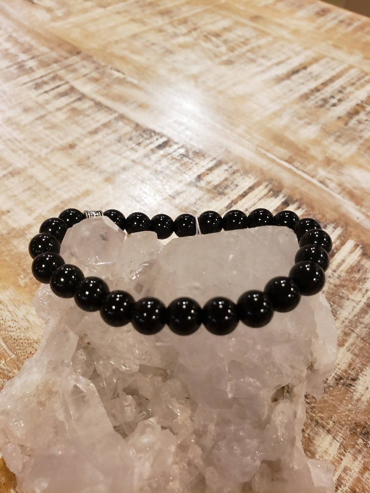 blk.onyx stretch bracelet