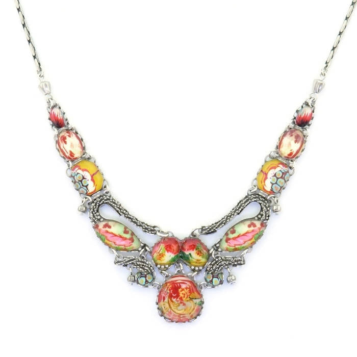 Ayala Bar Floral Coral Cave Necklace