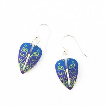 Holly Yashi Procession Earrings - Purple