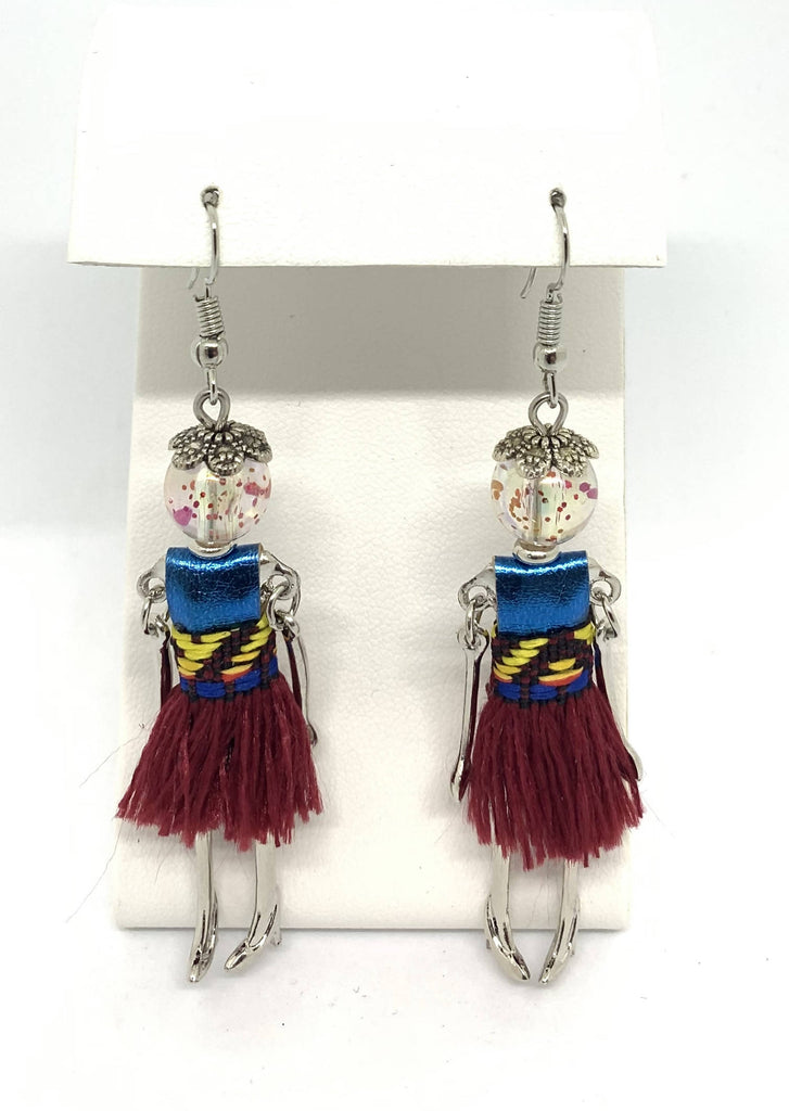 """Hula Dancer"" Earrings"