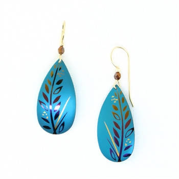 Holly Yashi Laguna Earrings - Teal