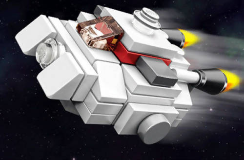 Micro Ghost Lego Star Wars Rebel Minibuild Kit