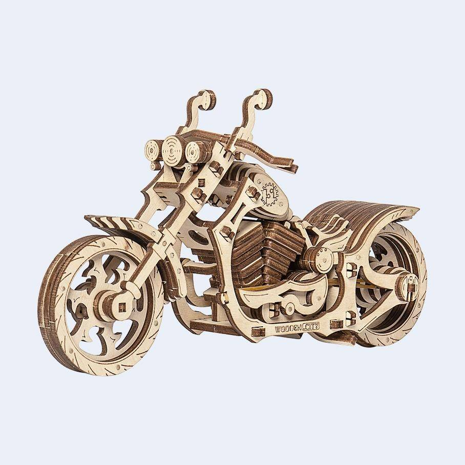 Wooden City Cruiser Motorcycle