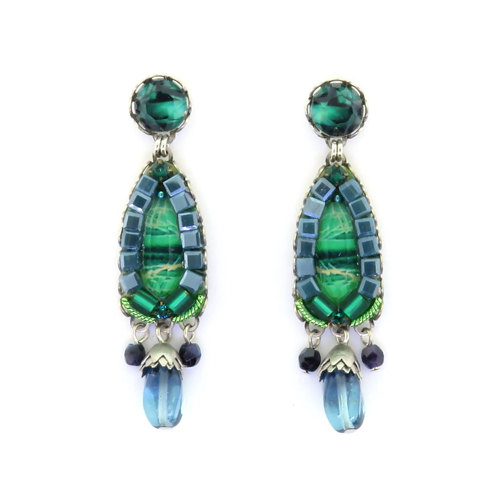 Ayala Bar Green River Earrings