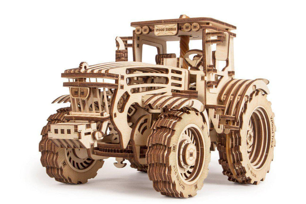 Wood Trick Tractor