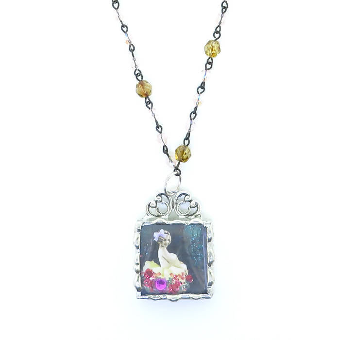 Cyndee Whitney Alluring Dancer Necklace