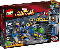 Lego® 76018 Hulk Lab Smash - Box Wear