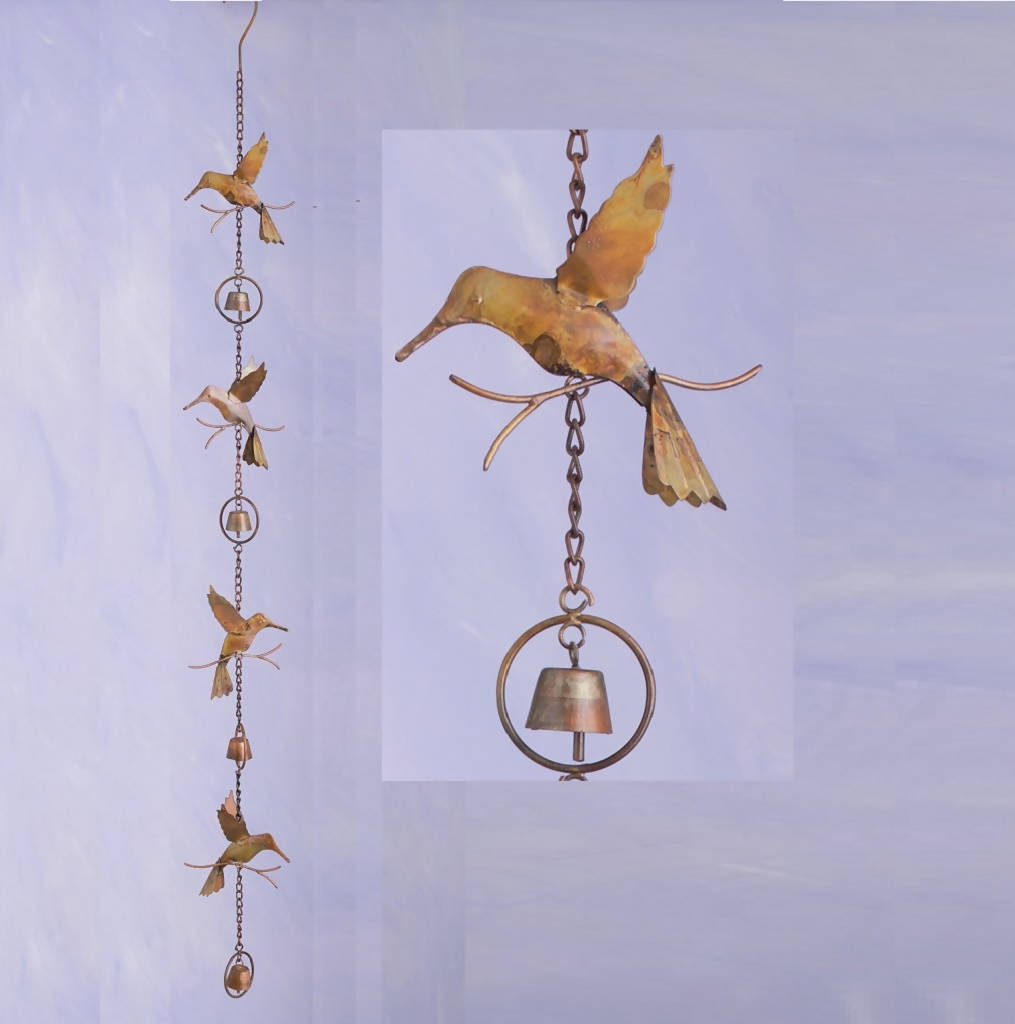 AG-86023 Hbirds & Bells Chain