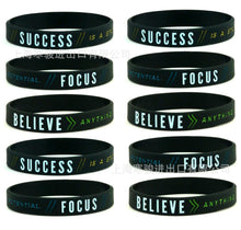 Load image into Gallery viewer, Motivational Silicone Sports Bracelets - Sport Performance Improvement Tools