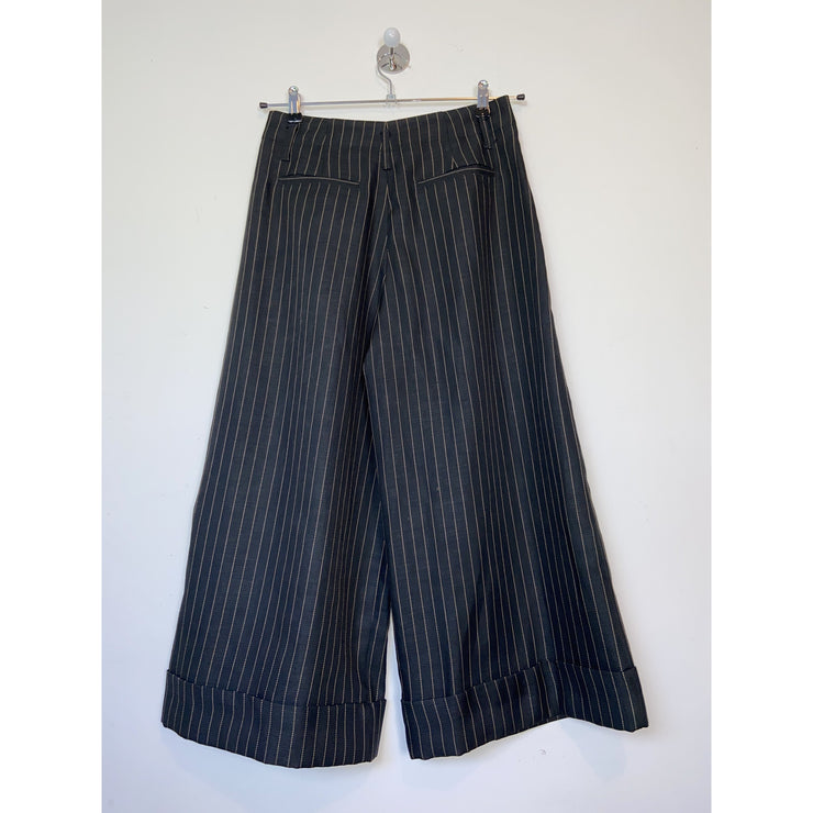 Striped Culotte Pants by Hope