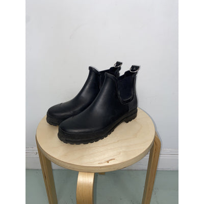 Black Rain Boots by Ilse Jacobsen