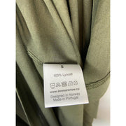 Olive Green Dress by Awan