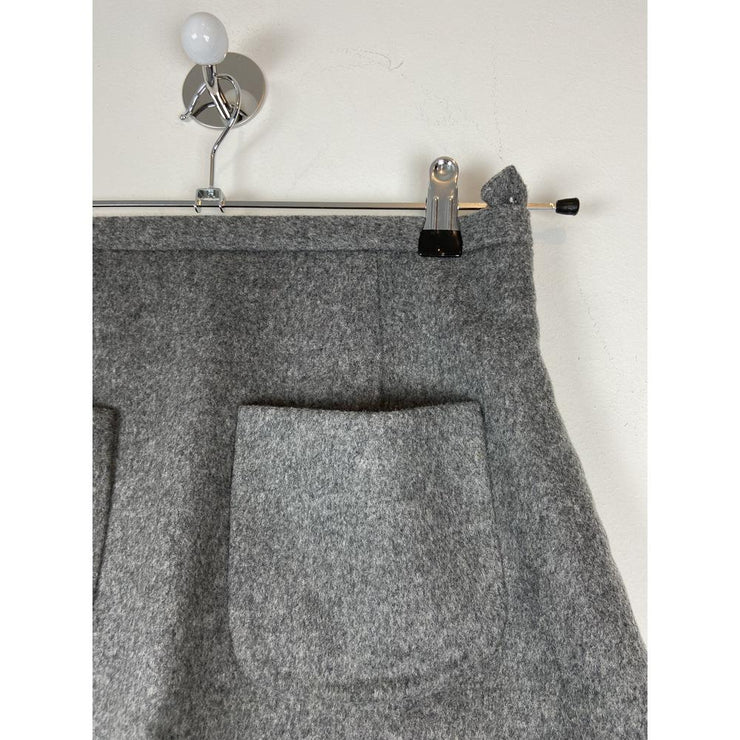 Grey Wool Skirt by Cos