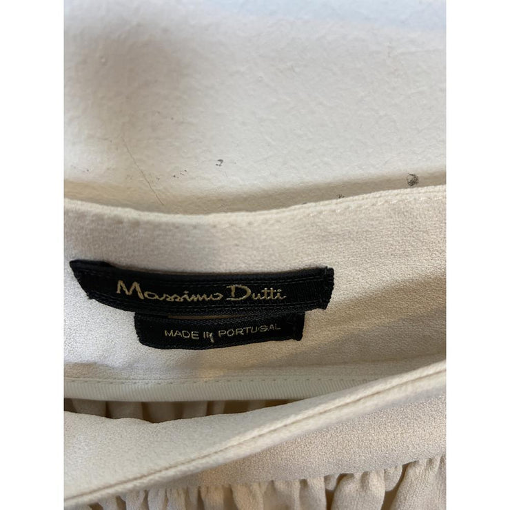 Off-white Mini Skirt by Massimo Dutti