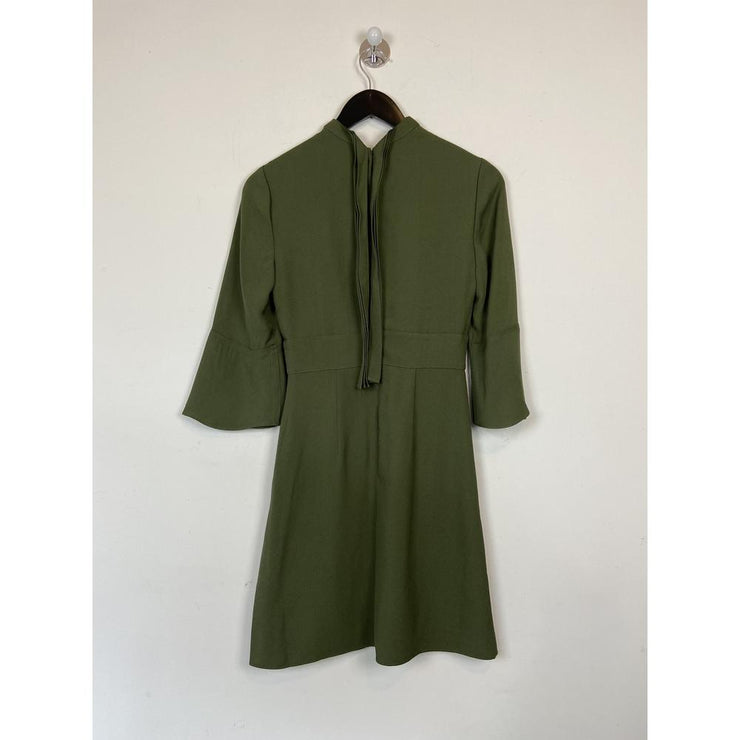 Bell Sleve Khaki Dress by Reiss