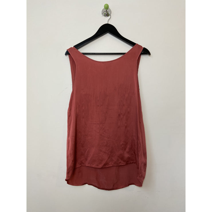 Sleeveless Silk Top by Samsoe Samsoe
