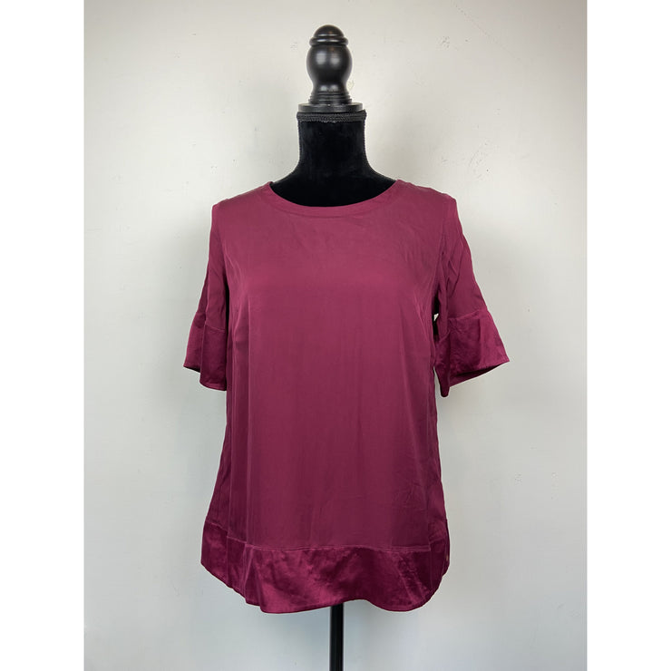 Fuschia Silk Top by Ahlvar