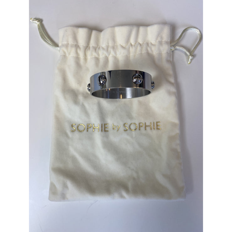 "Silver ""Screw Bangle"" by Sophie by Sophie"