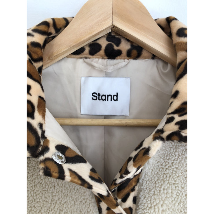 Beige Jacket by Stand