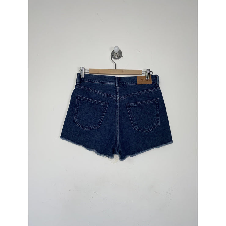 Blue Denim Shorts by Monki