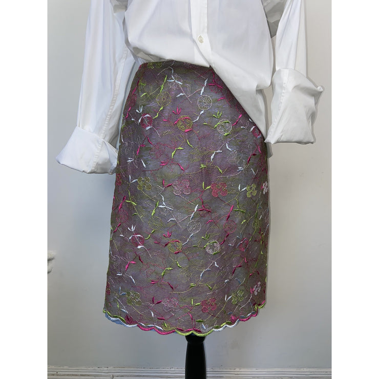 Multi-colored Vintage Skirt by Christian LaCroix