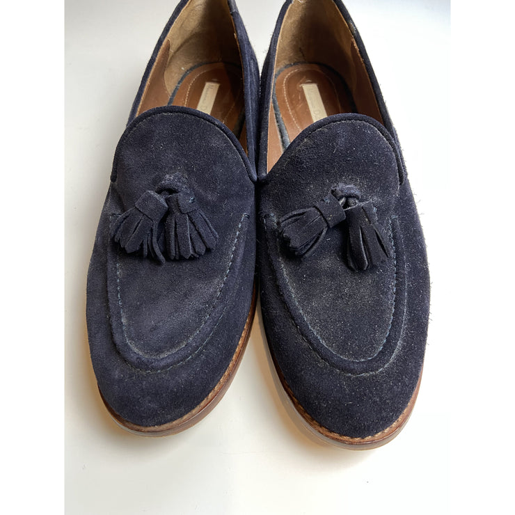 Navy Flats by Massimo Dutti