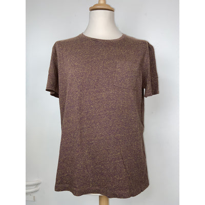 Brown T-shirt by Cos