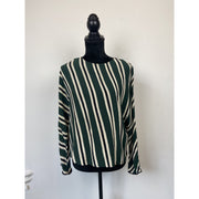 Striped Viscose Blouse by ZARA