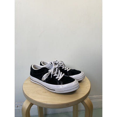 Black & White Sneakers by Converse