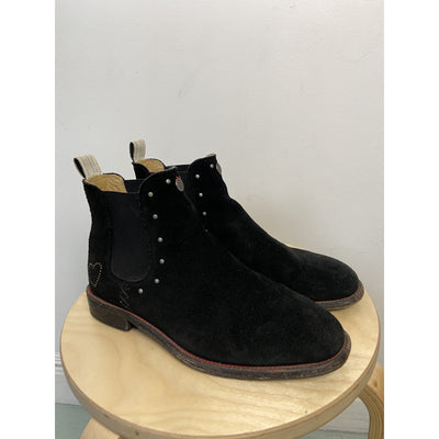 Dark Brown Chelsea Boots by Odd Molly