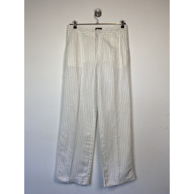 Pinstriped Wide Leg Pants by Lindex