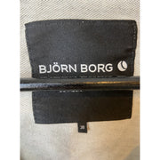 Grey Cropped Sweater by Björn Borg