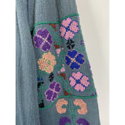 Blue Embroided Blouse by Blue