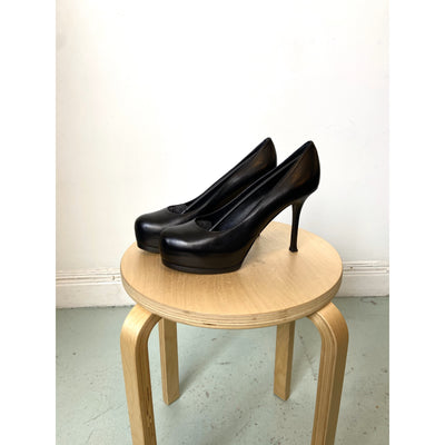 Black High Heel Pumps by Yves Saint Laurent