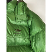 Green Puffer Jacket by Adidas