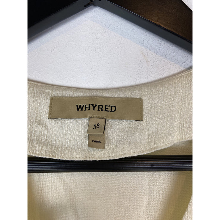 Off-white Sleeveless Top by Whyred